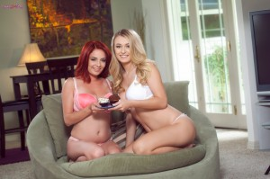 Twistys Ashlee Graham & Natalia Starr in Made These For You