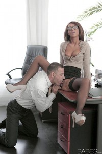 Office Obsessions Alexis Brill in Irresistible 3