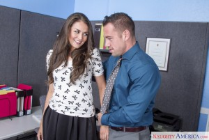 Naughty America Allie Haze & Johnny Castle in Naughty Office 2