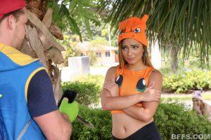 BFFS Shane, Kelly and Michelle in Poke Man Go! 4