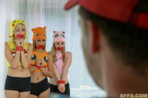 BFFS Shane, Kelly and Michelle in Poke Man Go! 6