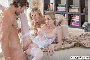 Vixen Let's Share My Boyfriend with Kendra Sunderland, Alexa Grace & Jean Val Jean 9